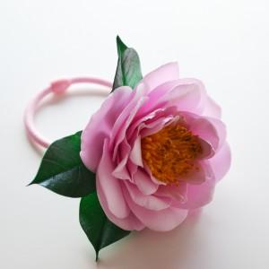Gumka do włosów- Tea rose
