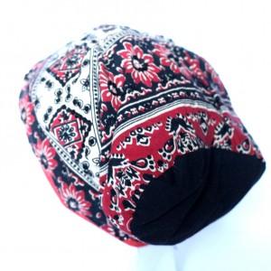 duża etno czapka przejściówka