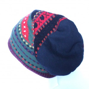 czapka wełniana norweżka ciepła