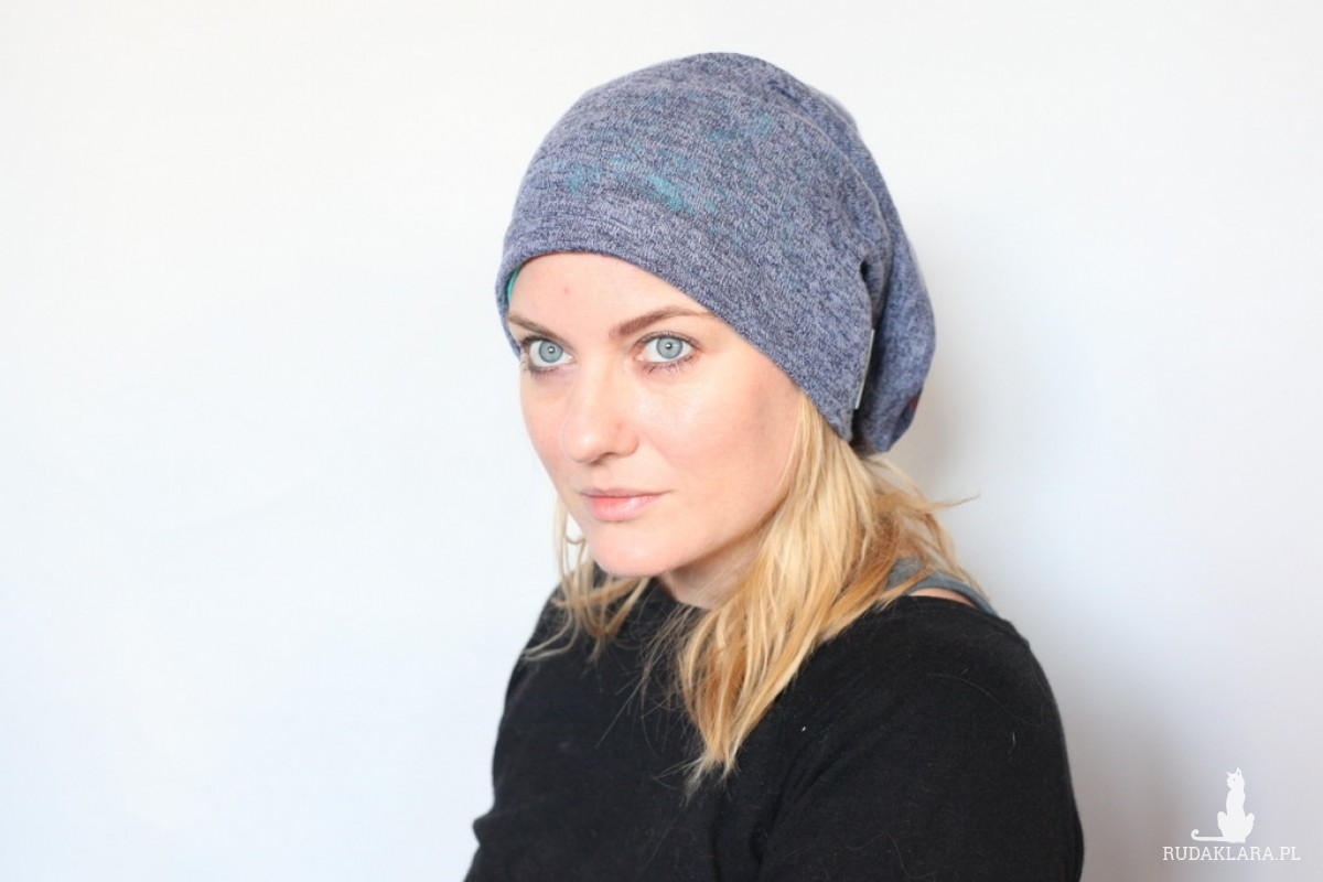 czapka handmade damska męska unisex A1