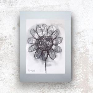 szary rysunek do pokoju, czarno biały szkic, grafika minimalizm, nowoczesny obraz na ścianę, grafika skandynawski styl