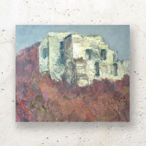 oryginalny rysunek z łąką, kwiaty rysunek do salonu, łąka obraz, nowoczesny rysunek z kwiatami, pastelowy obraz na ścianę