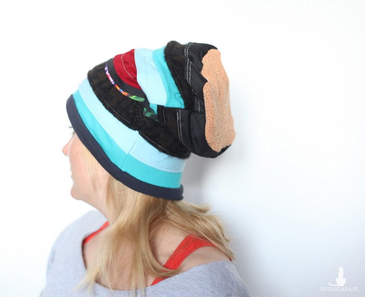 czapka damska handmade odchodzą w zapomnienie nie golone golenie A1