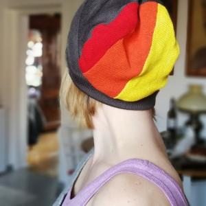 męska damska paski bawełna czapka unisex rower