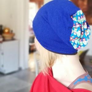 miękka czapka chabrowa matrioszki przejsciówka