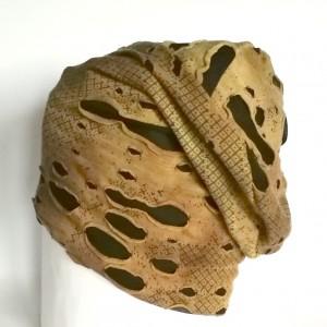 czapka damska bawełna dzianina etno wiosna sport