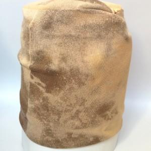 bawełniana dzianinowa czapka męska damska farbowana