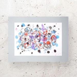minimalizm grafika na ścianę, ładna abstrakcja do domu, nowoczesna grafika do loftu, obraz skandynawski styl