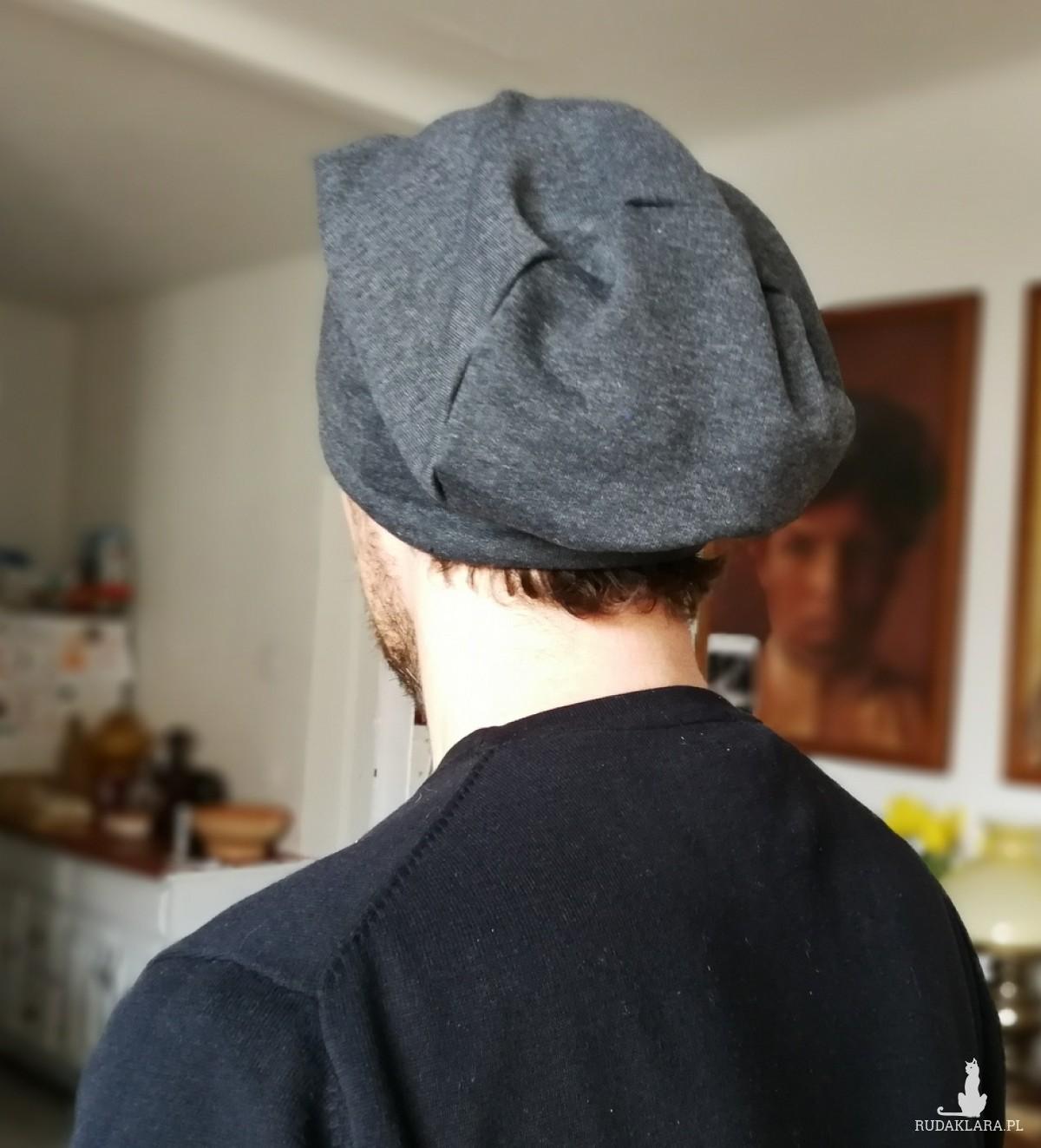 czapka unisex dzianina wiosna męska damska
