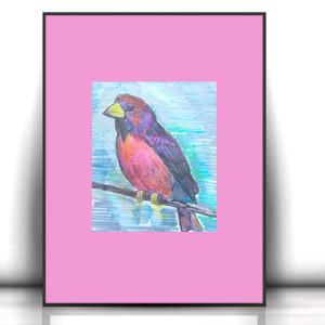 21x30 plakat drzewo, ładny plakat z drzewem, drzewo grafika na ścianę, botaniczny plakat, ładna grafika do jadalni