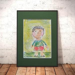 rysunek dla chłopca, obrazek z chłopczykiem, chłopiec rysunek, obrazek z chłopcem