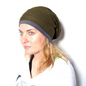 czapka damska handmade wełniana