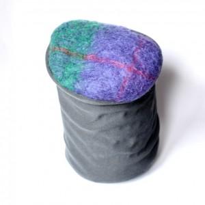 czapka damska wełniana handmade