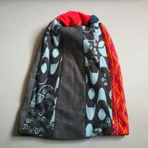 czapka damska patchwork etno boho