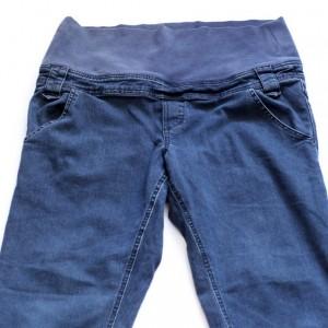 ciążowe jeansowe spodnie mama