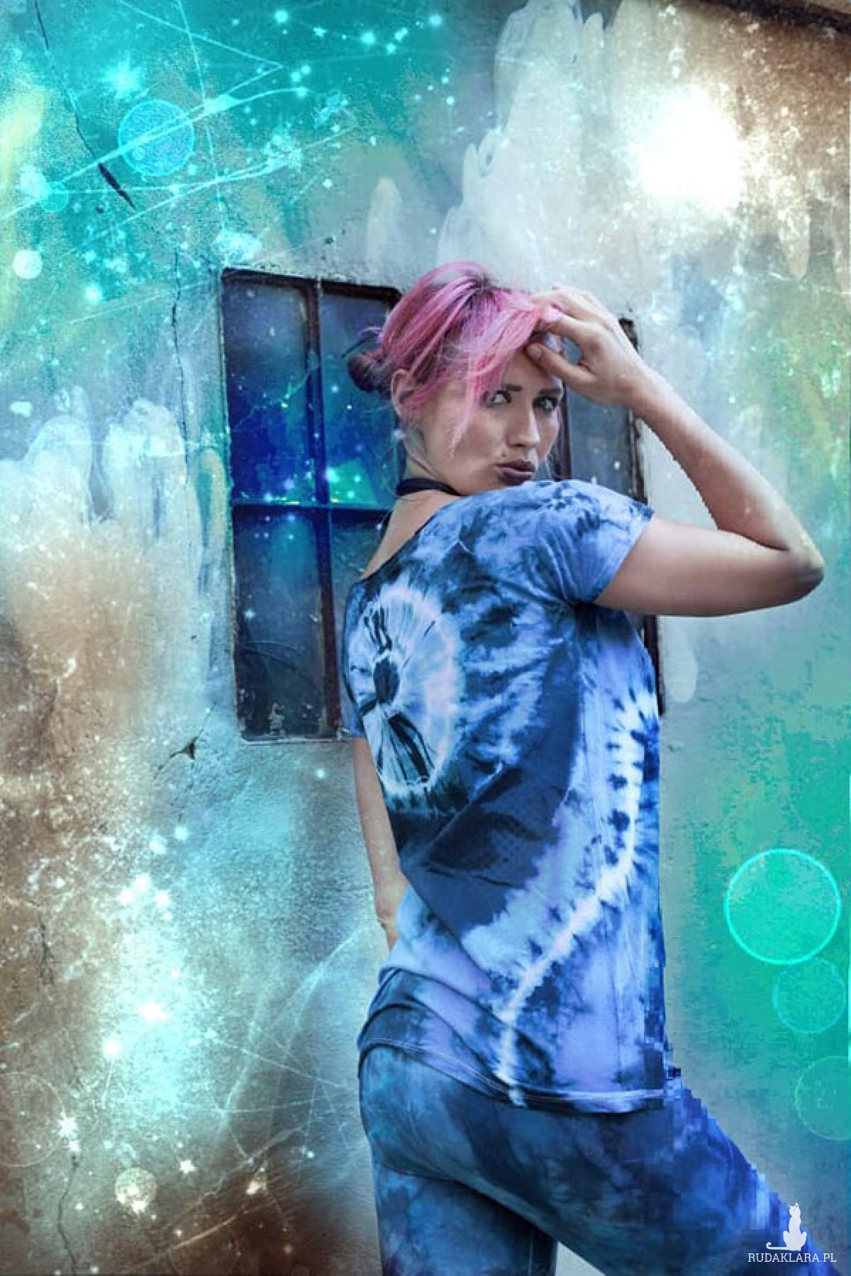 Na'vi bluzka-tunika damska