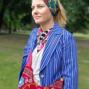 opaska etniczna damska boho handmade
