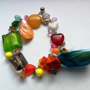 bransoletka kolorowa etno boho
