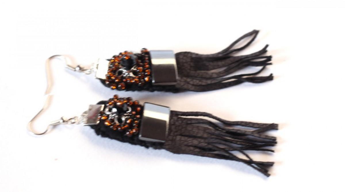 kolczyki  handmade etniczne i orientalne