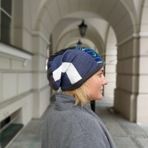 czapka damska etno boho patchworkowa (Kopia)
