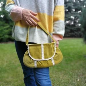 torebka damska retro cekiny handmade