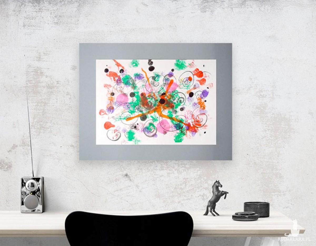 ładna abstrakcja, nowoczesna grafika do sypialni, minimalizm obraz, rysunek do loftu