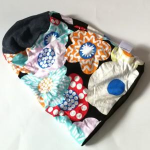 czapka damska dzianinowa wzorzysta długa