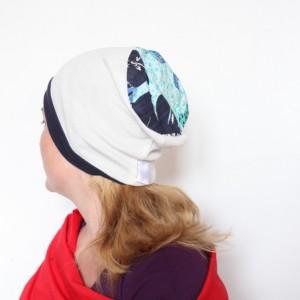 czapka sportowa dzianinowa