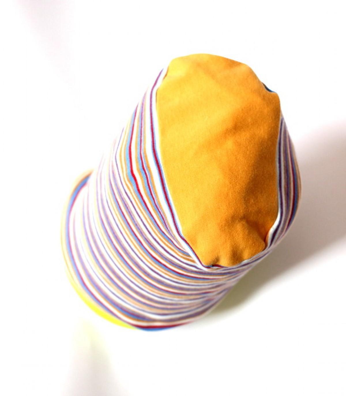 czapka dresowa w paski
