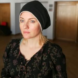 czapka unisex grafitowa damsko męska