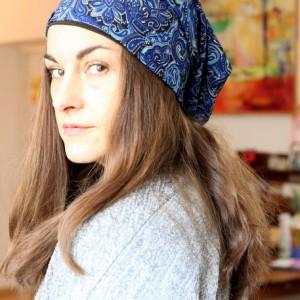 czapka damska wiosenna orientalna