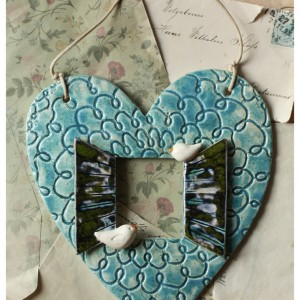 Okiennica serce