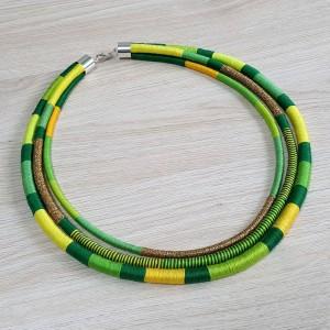 Neo-etno naszyjnik masajka