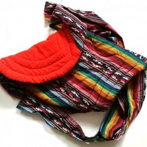 nosidełko mei tai dla dzieci w orientalnym stylu-Mei Tai handmade
