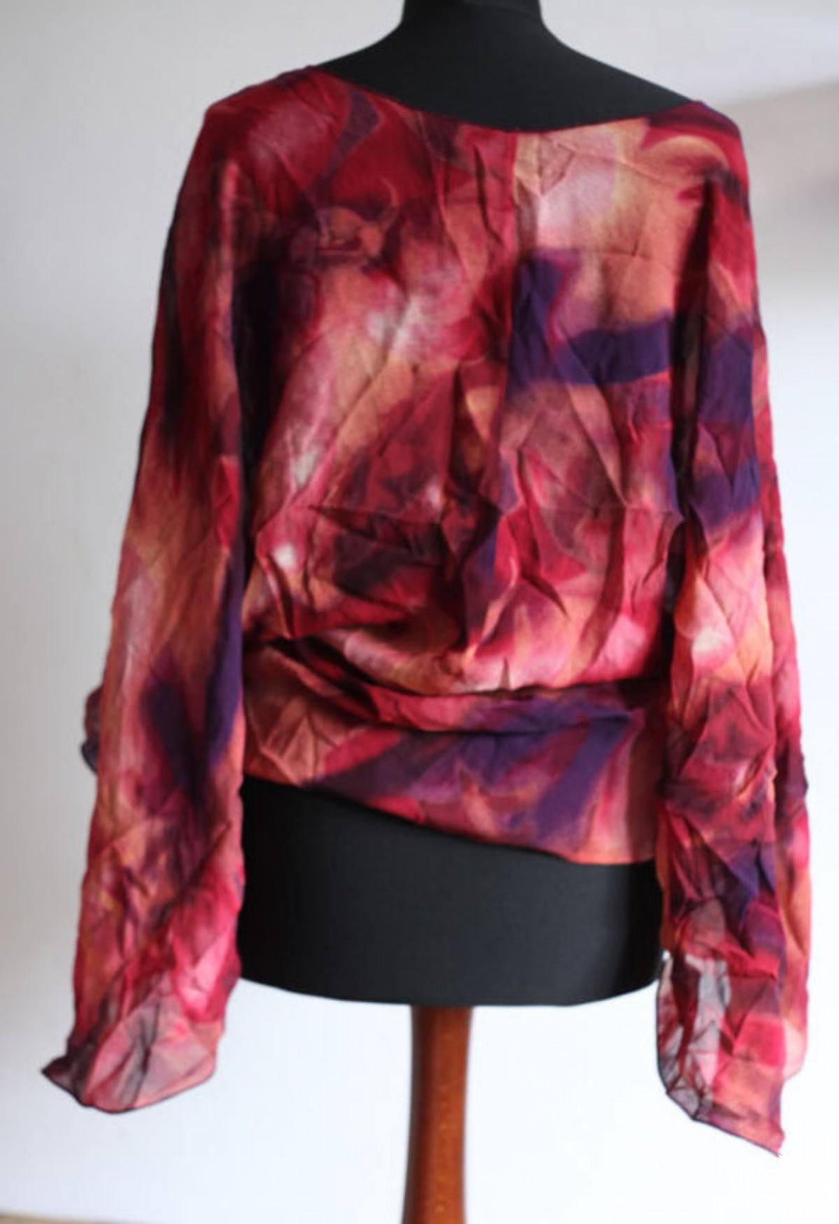 bluzka bohemian kolorowa