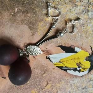 klipsy winogrona handmade