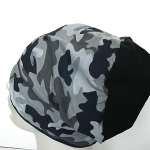 czapka dzianinowa charakter wojskowy unisex sportowa