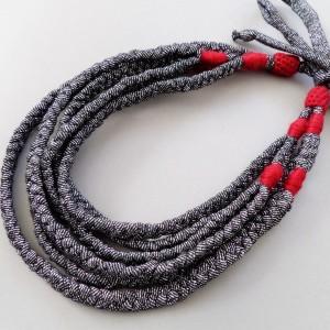 Naszyjnik ECOetnica etniczny masajka zamotka 049