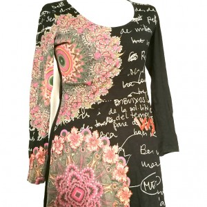 sukienka desigual rozmiar m/l