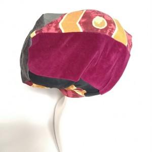 czapka patchworkowa wiosenna damska handmade