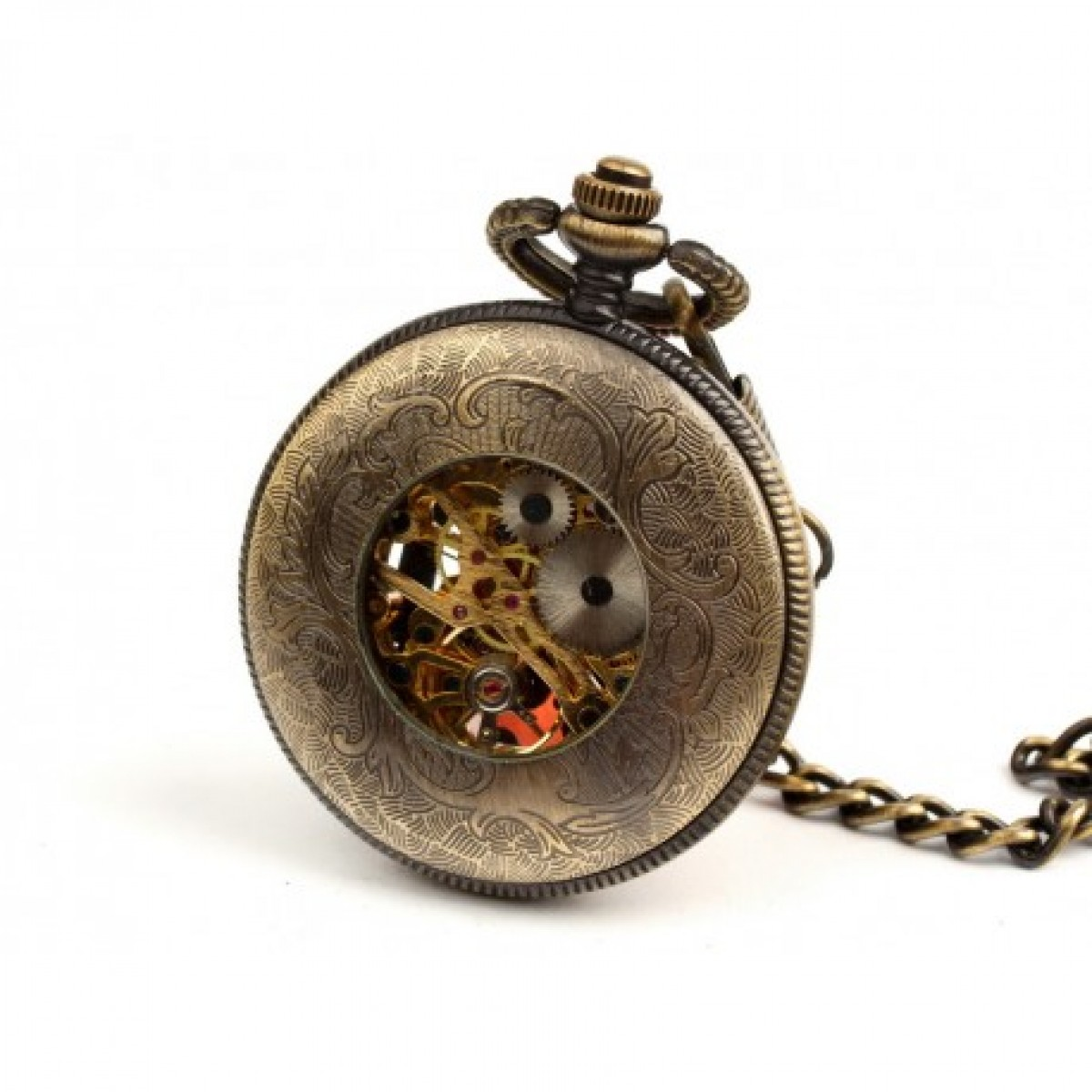 PODARUNEK DLA TATY - zegarek kieszonkowy, dewizka