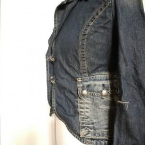 jeansowa kurtka w stylu boho firma replay rozmiar M