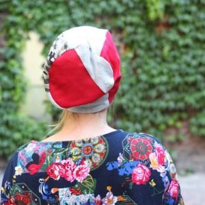 czapka damska wiosenna dresowa