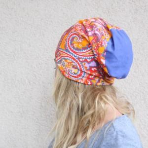 czapka dresowa sportowa w orientalne wzory