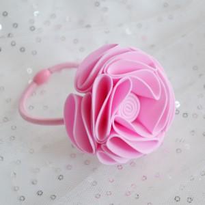 Gumka do włosów Pink marshmallow