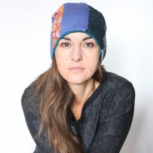 czapka damska patchworkowa etniczna