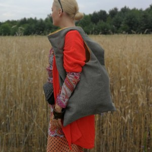 torba na ramie duża