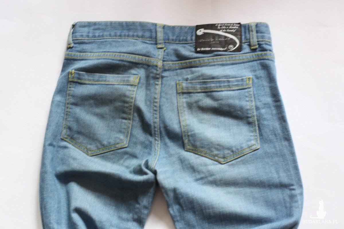 spodnie jeansy denim