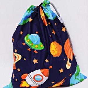 Worek na buty worek na kapcie do przedszkola do szkoły worek szkolny na ubrania kosmos planety