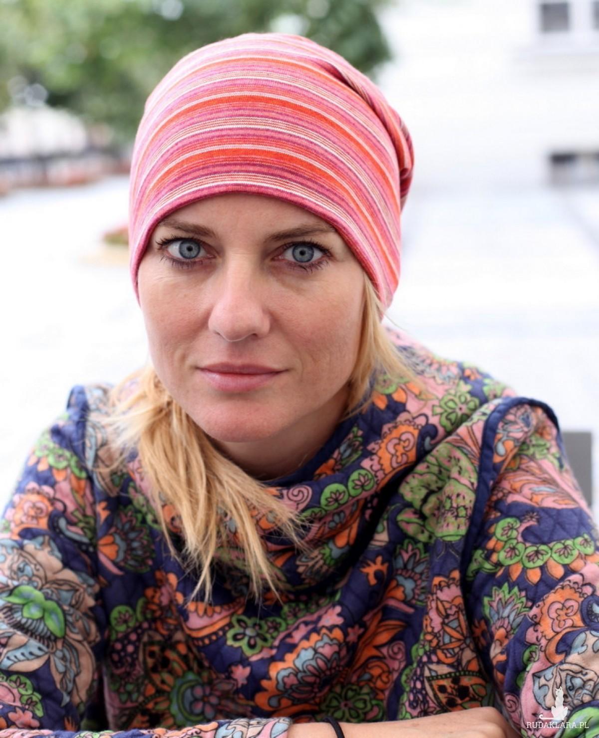 czapka sportowa dzianinowa damska męska unisex